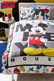 Mickey Mouse™ Duvet Cover and Pillowcase Set