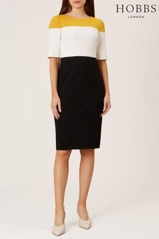 Hobbs Black Marietta Dress