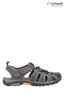 Cotswold Grey Sandhurst Touch Fastening Leisure Shoes