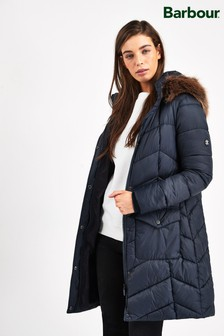 Barbour® Coastal Clam Quilted Coat