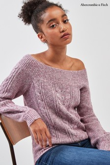 Abercrombie & Fitch Pink Jumper