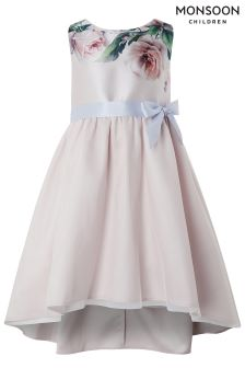 Monsoon Pink Bella Rose Dress