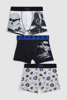 Star Wars™ Trunks Three Pack (2-12yrs)