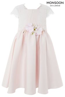 Monsoon Pink Mackenzie Dress