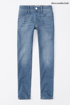 Abercrombie Fitch Mid Wash Jeggings
