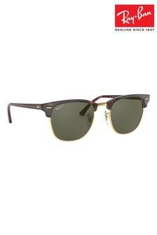 Поляризованные солнцезащитные очки-клабмастеры Ray-Ban®