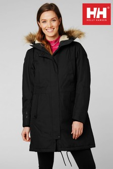 Helly Hansen Black Mayen Parka
