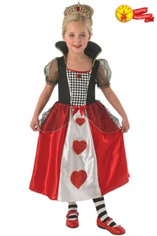 Rubies Queen Of Hearts Fancy Dress Costume