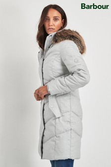 Barbour® Coastal Ice Marl Sternway Quilt Coat