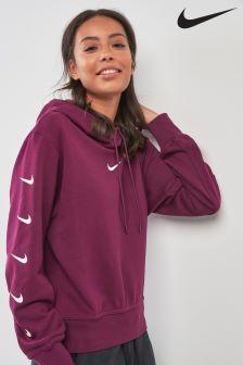 Nike Burgundy Swoosh Hoody