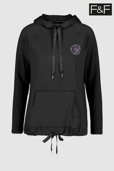 F&F Black Soft Touch Hoody