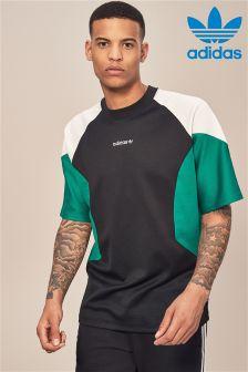 adidas Originals EQT Black/Noble Green Tee