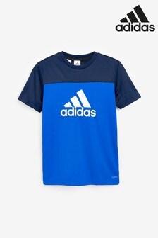 adidas Blue Climacool Training T-Shirt