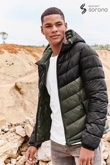 Hooded Quilted Jacket With DuPont™ Sorona® Insulation
