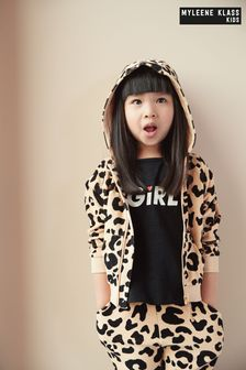 Myleene Klass Kids Unisex Animal Zip Through Hoodie