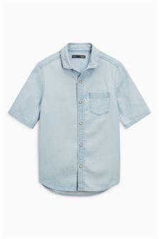 Chemise à manches courtes (3-16 ans)