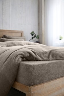 Super Soft Fleece Deep Fitted Sheet