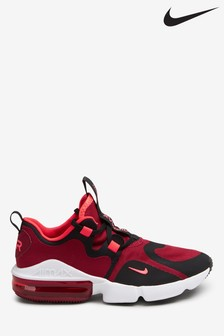 Nike Red Air Max Infinity Youth Trainers