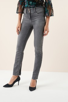Lift, Slim And Shape Jeans mit schmalem Schnitt