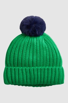 Bobble Beanie Hat (Younger)