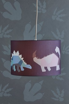 Geometric Dinosaur Easy Fit Shade
