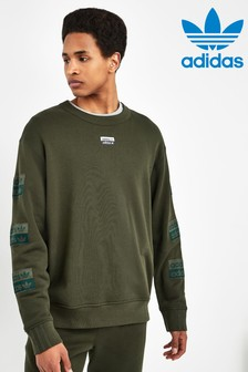 adidas Originals Khaki R.Y.V. Crew Sweater
