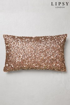 Lipsy Opulent Sequin Cushion