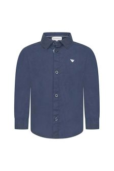 Emporio Armani Baby Boys Cotton Shirt