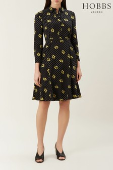 Hobbs Black Emberly Dress