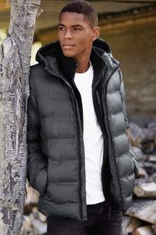 Heat Seal Quilted Fleece Lined Jacket