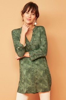 9b395b28659 Ladies Green Tops | Womens Green Blouses | Next Official Site