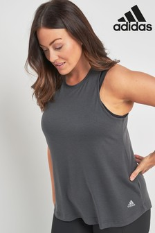 adidas Dark Grey Cool Tank Top