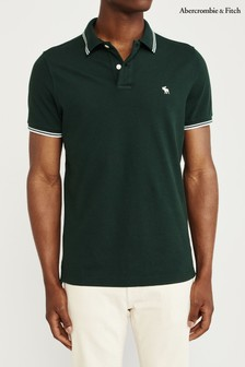 Abercrombie & Fitch Green Poloshirt