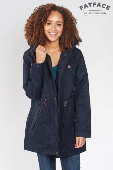Fat Face Navy Taylor Sealed Seam Jacket
