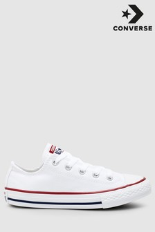 Converse Youth White Chuck Ox Trainers