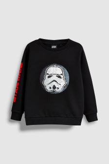 star wars sequin sweat top 3 14yrs - Star Wars Christmas Pajamas