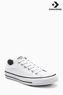 Converse White Shimmer Ox
