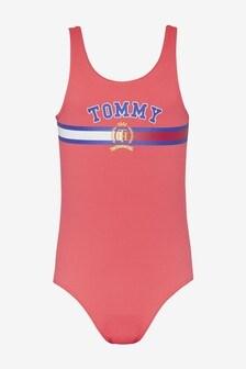 Tommy Hilfiger Girls Crest Swimsuit