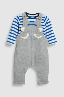 Mammoth Dungaree And Bodysuit Set (0mths-2yrs)