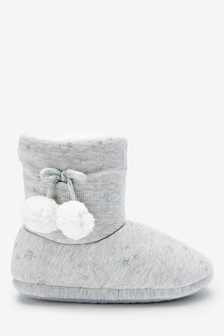 Sparkle Star Slipper Boots