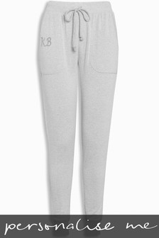 Personalised Women's Supersoft Knitted Joggers