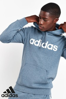 adidas Essentials Ink 3 Stripe Pullover Hoody