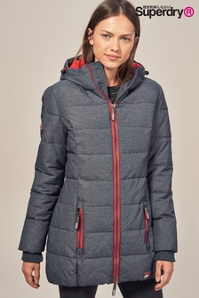 Superdry Long Sports Padded Coat