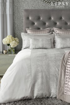 Lipsy Sequin Panel Duvet Cover and Pillowcase Set