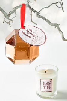 Kir Royale Bauble Candle