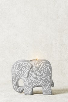 Elephant Tealight Holder