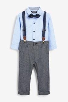 Рубашка и брюки (комплект) (3 мес.-7 лет)