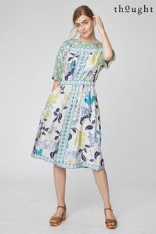Thought Cream Aurielle Dress