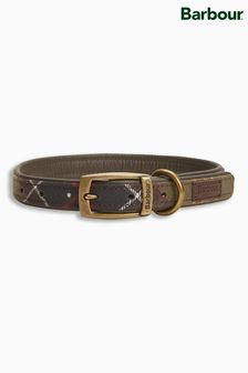 Barbour® Green Tartan Dog Collar