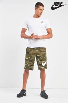 Nike Club Green Camo Short
